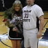 Senior Kennedy Thompson was crowned the Harlan County High School Basketball Sweetheart in ceremonies Thursday at the school. Thompson was escorted by HCHS senior center Zach Caldwell.