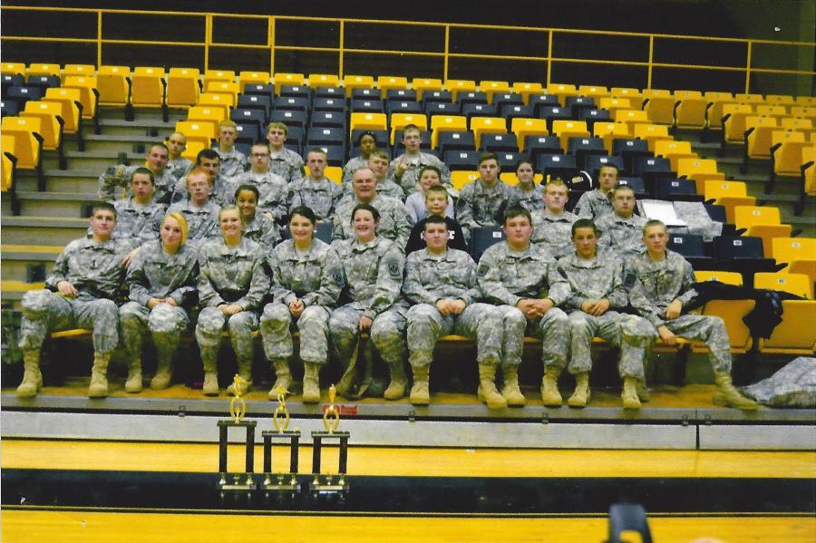 A busy year for the Harlan County JROTC