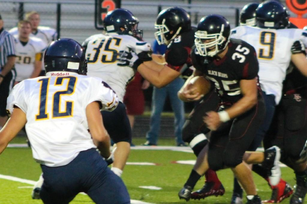 Harlan County linebacker Carson Whitehead was named to the MaxPreps preseason all-state team.