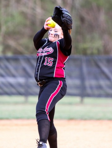 Harlan County pitcher Destinee Jenkins tossed a no-hitter Thursday as the Lady Bears opened the season with a five-inning 10-0 win over visiting Whitley County.