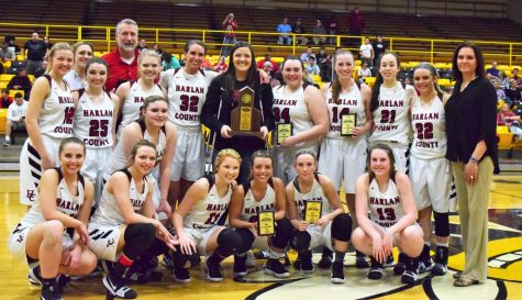 Lady Bears rout Harlan in district finals