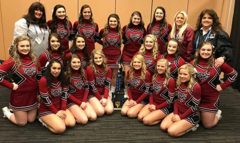 HCHS cheerleaders win region